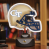 Georgia Tech Yellow Jackets - Neon Helmet & Cap Desk Lamp