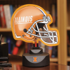 Illinois Fighting Illini - Neon Helmet & Cap Desk Lamp