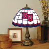 Kansas Jayhawks - Stained-Glass Tiffany-Style Table Lamp