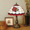 Louisville Cardinals - Stained-Glass Tiffany-Style Table Lamp