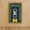 Michigan Wolverines - Single Art Glass Light Switch Cover