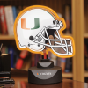 Miami Hurricanes - Neon Helmet & Cap Desk Lamp