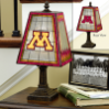 Minnesota Gophers - Art Glass Table Lamp