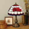 Mississippi Rebels - Stained-Glass Tiffany-Style Table Lamp