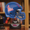 Mississippi Rebels - Neon Helmet & Cap Desk Lamp