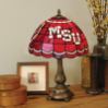 Mississippi State Bulldogs - Stained-Glass Tiffany-Style Table Lamp