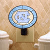 North Carolina Tar Heels - Art Glass Night Light