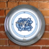 North Carolina Tar Heels - Neon Light Wall Clock