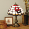 Oklahoma Sooners - Stained-Glass Tiffany-Style Table Lamp