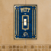 Pittsburgh Panthers - Single Art Glass Light Switch Cover