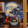 Pittsburgh Panthers - Neon Helmet & Cap Desk Lamp