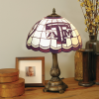 Texas A&M Aggies - Stained-Glass Tiffany-Style Table Lamp