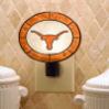 Texas Longhorns - Art Glass Night Light