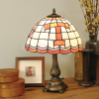 Tennessee Volunteers - Stained-Glass Tiffany-Style Table Lamp