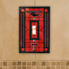 Texas Tech Red Raiders - Single Art Glass Light Switch Cover