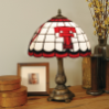 Texas Tech Red Raiders - Stained-Glass Tiffany-Style Table Lamp