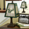 South Florida Bulls - Art Glass Table Lamp