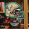 South Florida Bulls - Neon Helmet & Cap Desk Lamp