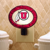 Utah Utes - Art Glass Night Light