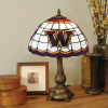 Washington Huskies - Stained-Glass Tiffany-Style Table Lamp