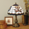 Virginia Cavaliers - Stained-Glass Tiffany-Style Table Lamp