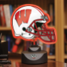 Wisconsin Badgers - Neon Helmet & Cap Desk Lamp