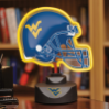 West Virginia Mountaineers - Neon Helmet & Cap Desk Lamp