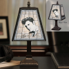 Elvis Presley - Art Glass Table Lamp