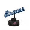 Atlanta Braves - Neon Script Desk Lamp