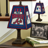 Atlanta Braves - Art Glass Table Lamp