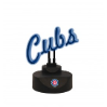 Chicago Cubs - Neon Script Desk Lamp