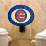 Chicago Cubs - Art Glass Night Light