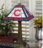 Chicago Cubs - Stained-Glass Mission-Style Table Lamp
