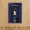 Colorado Rockies - Single Art Glass Light Switch Cover