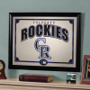 Colorao Rockies Framed Mirror