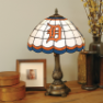 Detroit Tigers - Stained-Glass Tiffany-Style Table Lamp