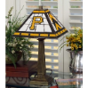 Pittsburgh Pirates - Stained-Glass Mission-Style Table Lamp