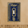 San Diego Padres - Single Art Glass Light Switch Cover
