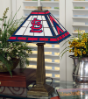 St. Louis Cardinals - Stained-Glass Mission-Style Table Lamp