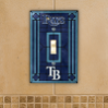 Tampa Bay Devil Rays - Single Art Glass Light Switch Cover