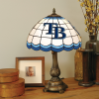Tampa Bay Devil Rays - Stained-Glass Tiffany-Style Table Lamp
