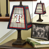 Texas Rangers - Art Glass Table Lamp