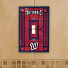 Washington Nationals - Single Art Glass Light Switch Cover