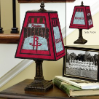 Houston Rockets - Art Glass Table Lamp