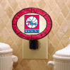 Philadelphia 76ers - Art Glass Night Light