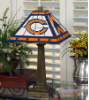 Chicago Bears - Stained-Glass Mission-Style Table Lamp