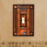 Cleveland Browns - Single Art Glass Light Switch Cover