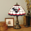 Houston Texans - Stained-Glass Tiffany-Style Table Lamp