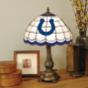 Indianapolis Colts - Stained-Glass Tiffany-Style Table Lamp