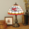 Kansas City Chiefs - Stained-Glass Tiffany-Style Table Lamp